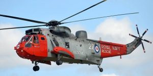 Culdrose Air Day 2015: The Search and Rescue Sea King from 771 Squadron makes its last appearance at an Air Day. Picture by Colin Higgs