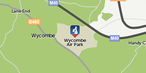 Wycombe Air Park location