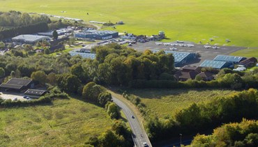 Wycombe Air Park - aerial image